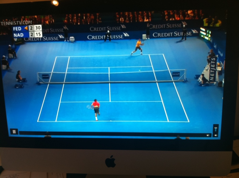 Federer - Nadal in Match for Africa on TennisTV.com in Zurich 2010