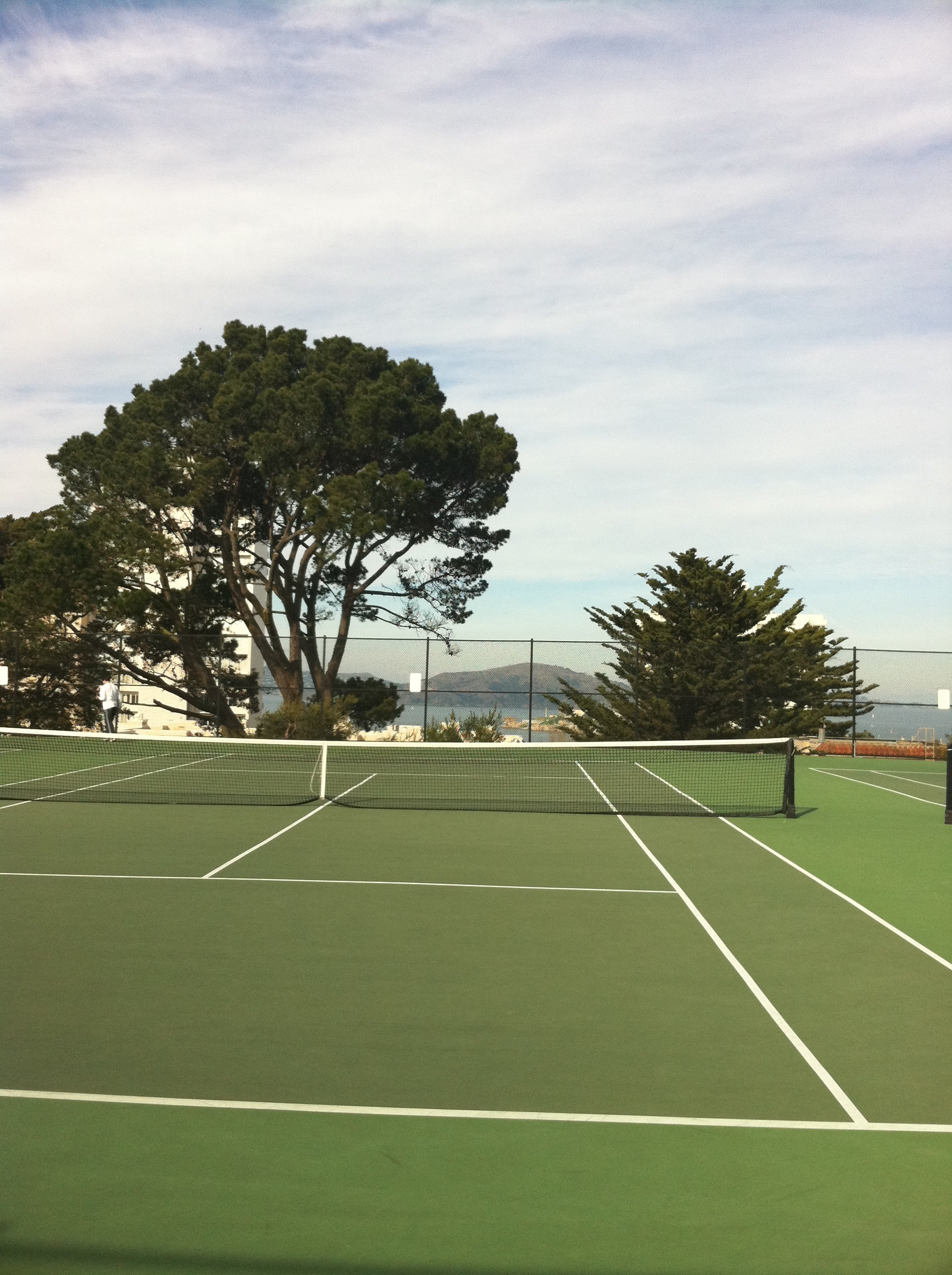 Tennis Court with a View – Alice Marble Park SF