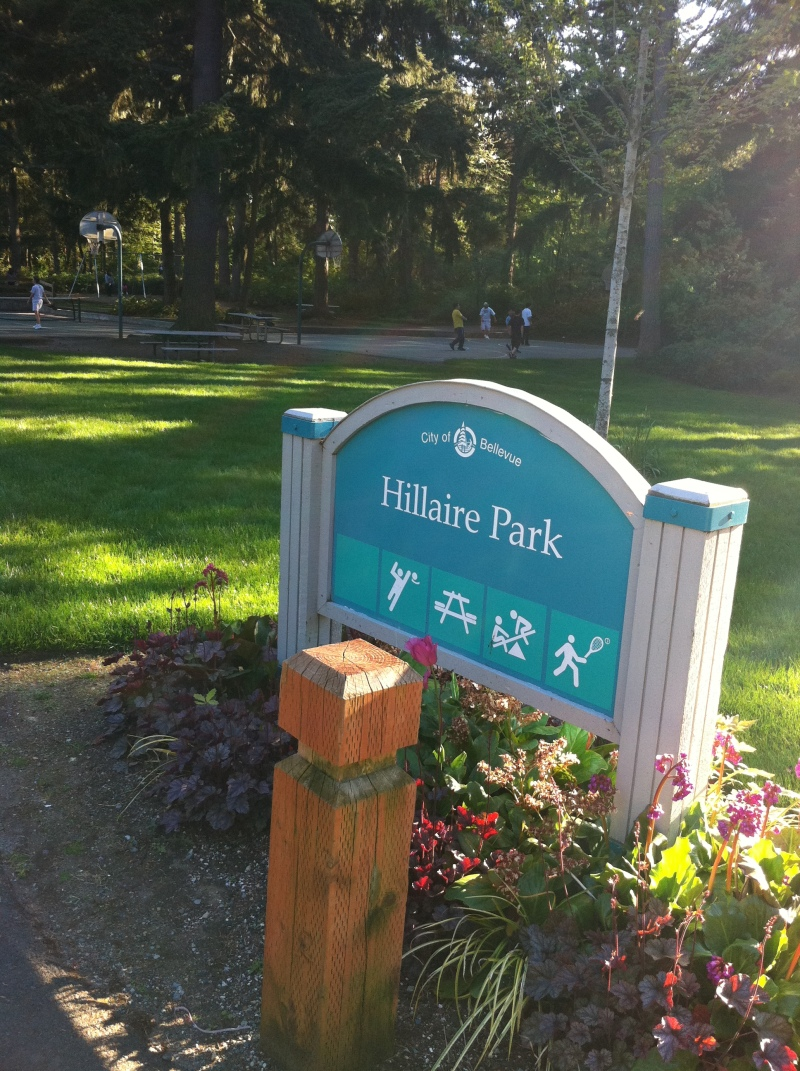 Hillaire Park Entrance