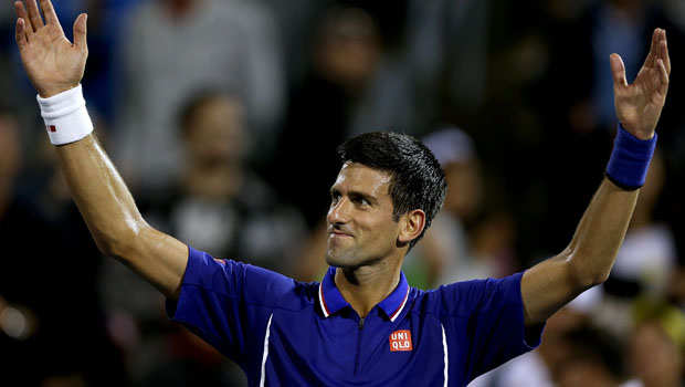 Novak-Djokovic-acknowledges-crowd-getty