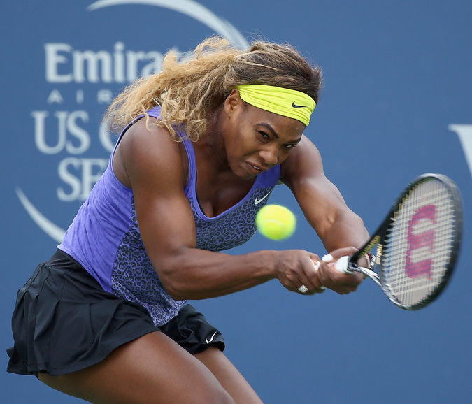 Serena Williams wins first W&S Open singles title